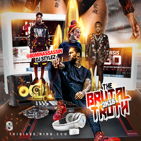 The Brutal Truth 2k18 DJ Stylez front cover