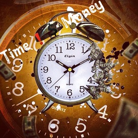 Time Is Money MiniBlaze front cover