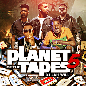 Planet Of The Tapes 5 DJ Jah Will front cover