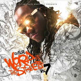 Word In The Streets 7 DJ S.R. front cover