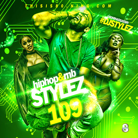 Hiphop & Rnb Stylez Vol 109 DJ Stylez front cover