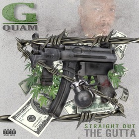 Straight Out The Gutta Gangsta Quam front cover
