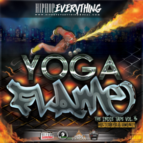 YOGA FLAME Dj LuMoney front cover