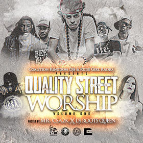 Quality Street Worship Vol. 1 Rootsqueen front cover