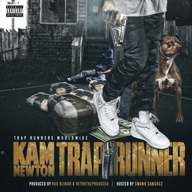 Trap Runner Kam Newton front cover