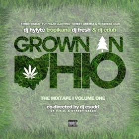 Grown In Ohio DJ Hylyte front cover