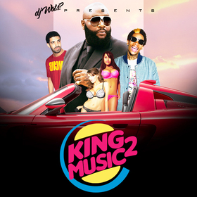 King Music 2 DJ Wats front cover