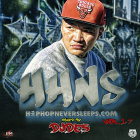 Hip Hop Never Sleeps Vol.17 DJ DES front cover