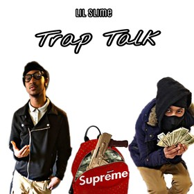 Trap Talk The EP Lil Slime front cover