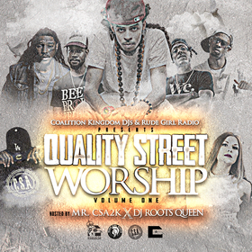 Quality Street Worship Vol 1 Coalition Kingdom DJs front cover