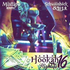 Hookah Highlife 16 DJ S.R. front cover