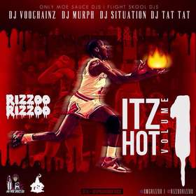 #ItzHot Vol. 1 Rizzoo Rizzoo front cover