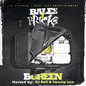 Bales & Bricks B. Green front cover