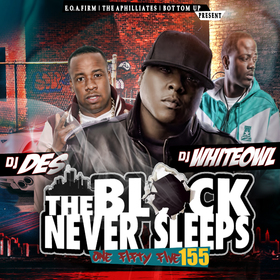 The Block Never Sleeps 155 Various Artists front cover