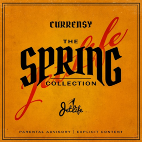 The Spring Collection Curren$y front cover