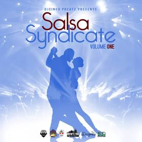 Salsa Syndicate Volume 1 #Salsa DJ Cinco P Beatz front cover