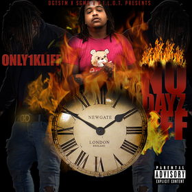 Only1Kliff- No Dayz Off DJ Konnect  front cover