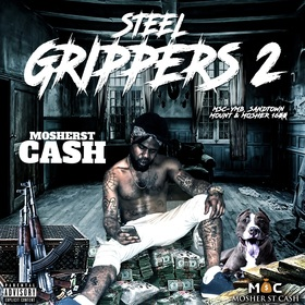 Steel Grippers 2 Mosherst Cash front cover