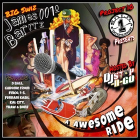 Big Swiz (A Awesome Ride) DJ Stop N Go front cover