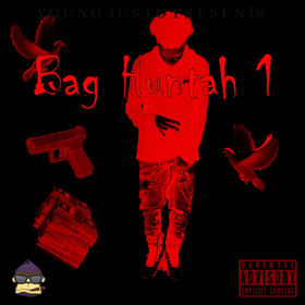 Bag Huntah 1 Young Justo front cover