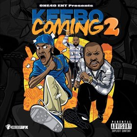 Keebo - Coming 2 (Hosted By Dj Dreamchaser) DJ Infamous front cover