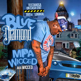 Blue Diamond Wicced front cover