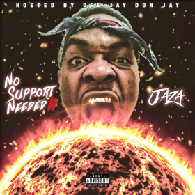 No Support Needed II Jaza front cover