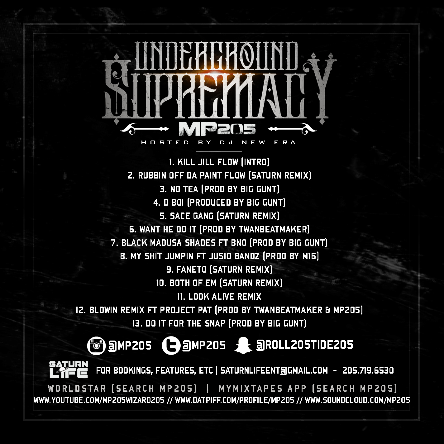 MP205 - Underground Supremacy | Spinrilla