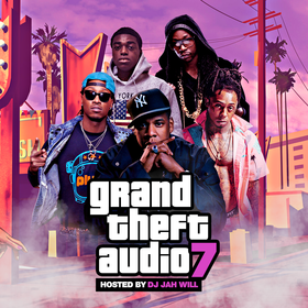 Grand Theft Audio 7 DJ Jah Will front cover
