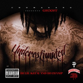 Underestimated Ghxst front cover