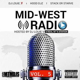 Mid-West Radio Vol. 5 DJ Louie V front cover