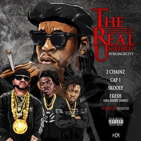T.R.U. The Real University DJ E.Sudd front cover