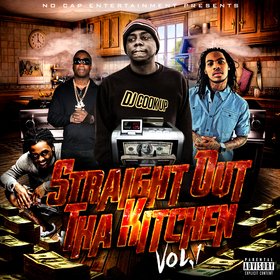 STRAIGHT OUT THA KITCHEN VOL1 DJ COOK UP front cover