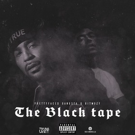 The Black Tape Pretty Face Gangsta & Bitwozy front cover