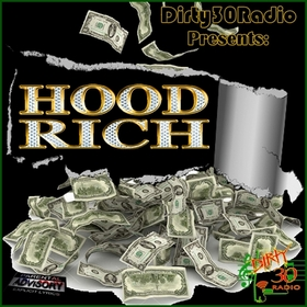 Hood Rich DIRTY30RADIO front cover