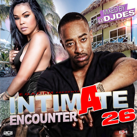 Intimate Encounter 26 DJ DES front cover