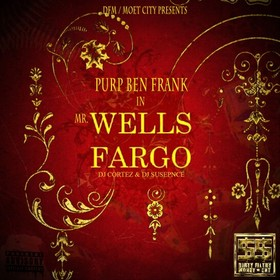 Mr. Wells Fargo Purp Ben Frank front cover
