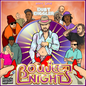 Boujee Nights Dusty Leigh front cover