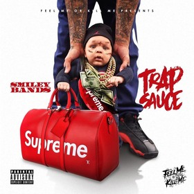 Trap Sauce Smiley Bands front cover