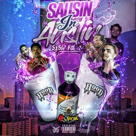 Saucin In Austin SXSW Vol.2 DJ Official front cover