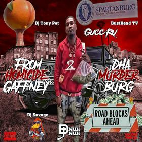 From Homicide Gaffney 2 Dha Murda Burg GuccRu front cover