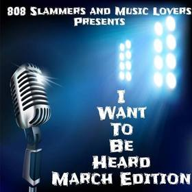 I Want To Be Heard-March Edition Music Lovers front cover