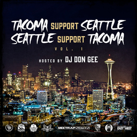 Tacoma Support Seattle, Seattle Support Tacoma various artist front cover