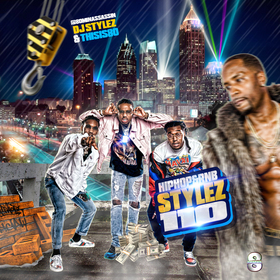 Hiphop & Rnb Stylez Vol 110 DJ Stylez front cover