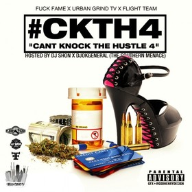 Can't Knock The Hustle 4 DJ O.K. General front cover