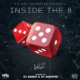 Inside The 8 Volume 2 Hip Hop Indieboard front cover