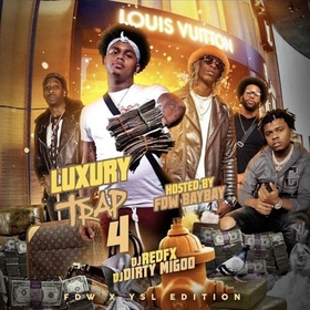 Luxury Trap 4 DJ Big Migoo front cover