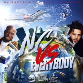 #NCvsEverybody DJ Supreme The Great front cover