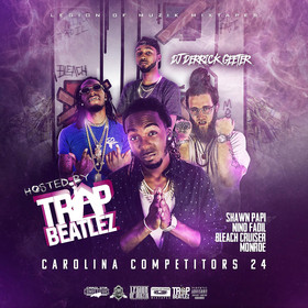 Carolina Competitors 24 ( Hosted By Trap Beatelz ) DJ DERRICK GEETER front cover