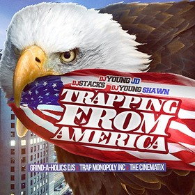 Trapping From America DJ Young JD front cover